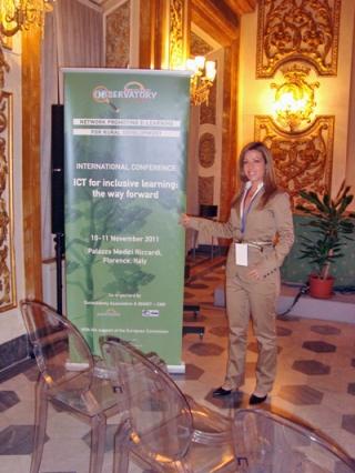 """Conferencia Internacional """"TIC para una educación inclusiva"""" (Florencia)"""