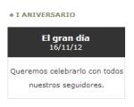 Blog TEIDE I Aniversario