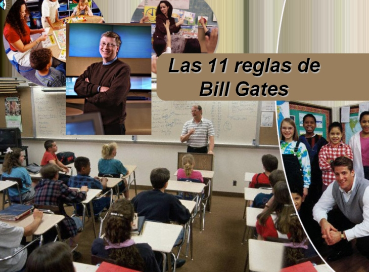 Las 11 reglas de Bill Gates