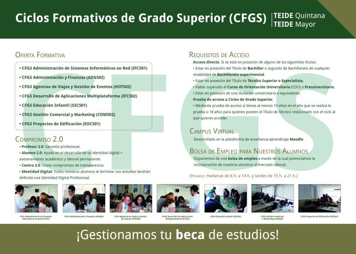 Díptico CFGS TEIDE
