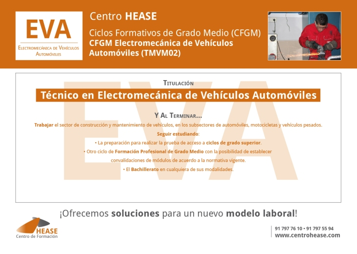 CFGM Electromecánica de Vehículos Automóviles