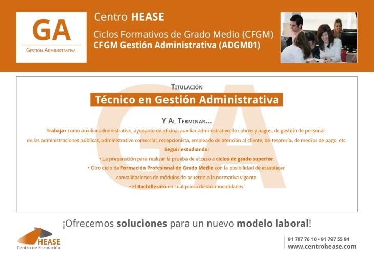 CFGM Gestión Administrativa HEASE