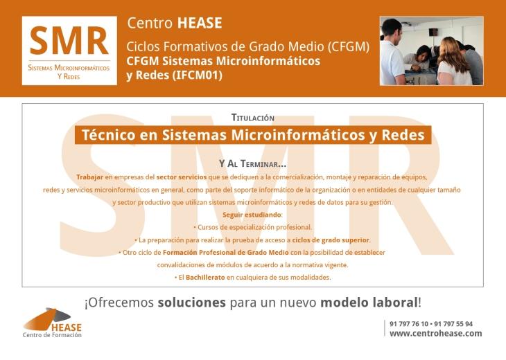 CFGM Sistemas Microinformáticos y Redes HEASE