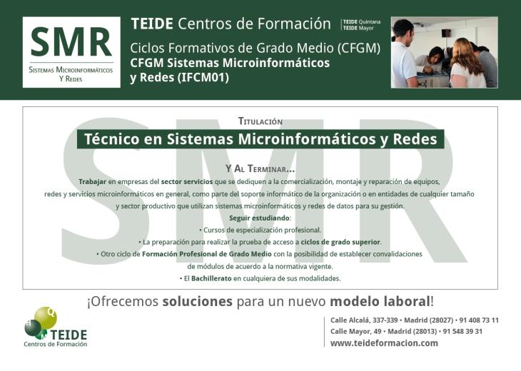 CFGM Sistemas Microinformáticos y Redes (IFCM01) TEIDEreverso-01