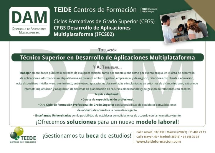 CFGS Desarrollo de Aplicaciones Multiplataforma1