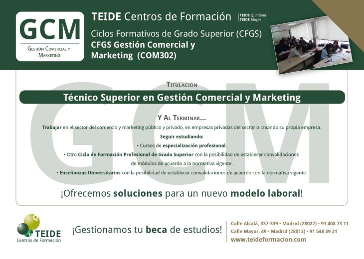 CFGS Gestión Comercial y Marketing