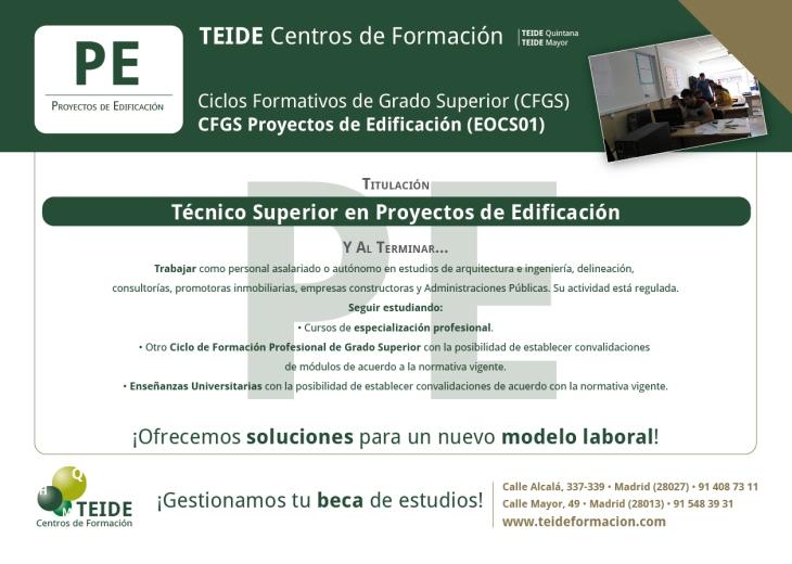 CFGS Proyectos de Edificación