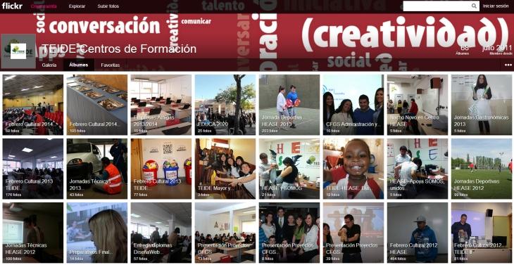 Cuenta Flickr TEIDE-HEASE