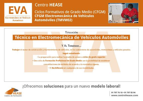 CFGM Electromecánica de Vehículos Automóviles (TMVM02)HEASE-02