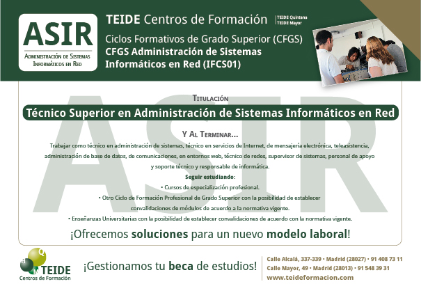 CFGS Administración de Sistemas Informáticos en Red-01