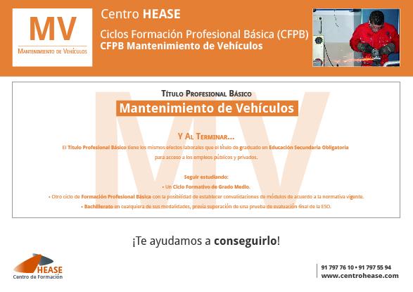 CFPB Mantenimiento de Vehículos