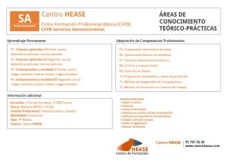 CFPB Servicios  Administrativos