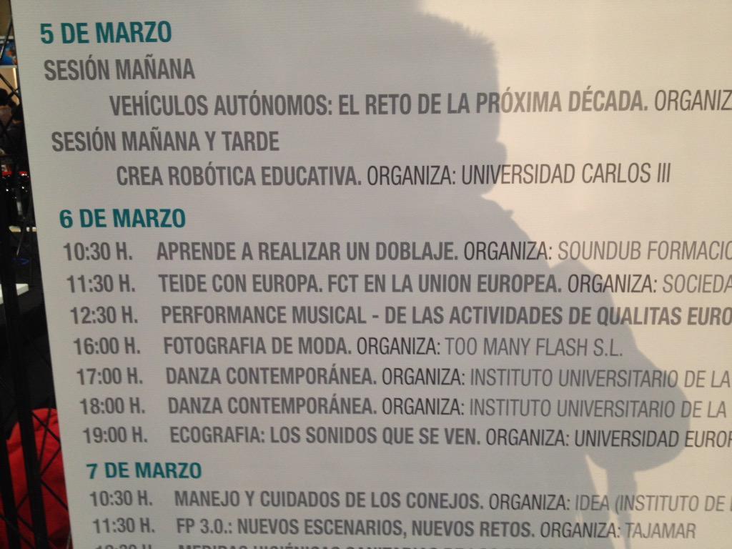 #TEIDEenAULA2015