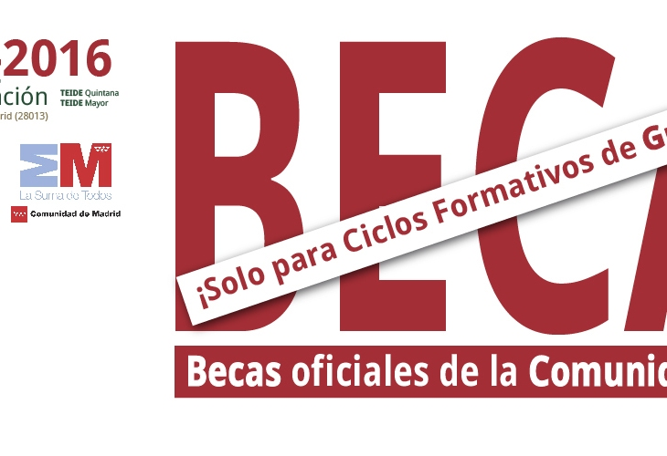 Becas CFGS 2015/2016