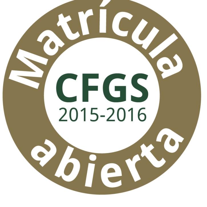 Matrícula CFGS