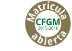 Matrícula abierta CFGM