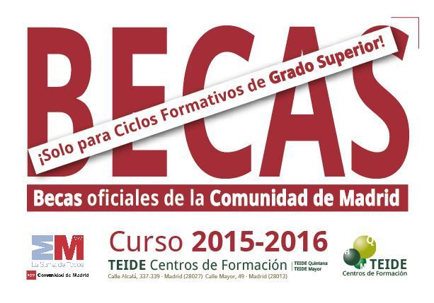 Becas 2015-2016