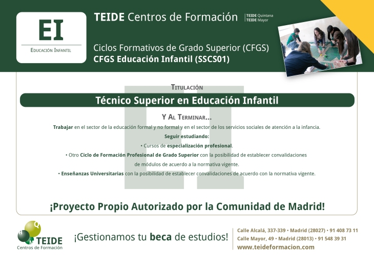 CFGS Educación Infantil