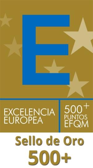 Sello EFQM 500+