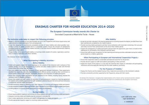 Carta Erasmus Ing
