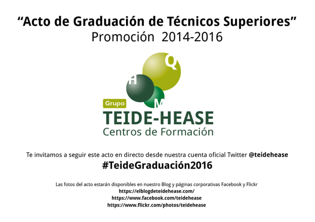 Graduación TEIDE