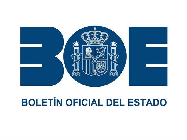 Logo BOE