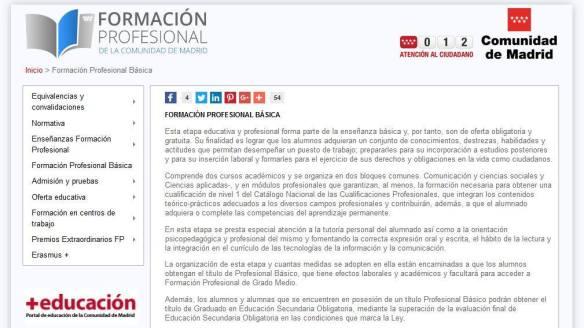 Formación Profesional Básica El Blog De Teide Hease