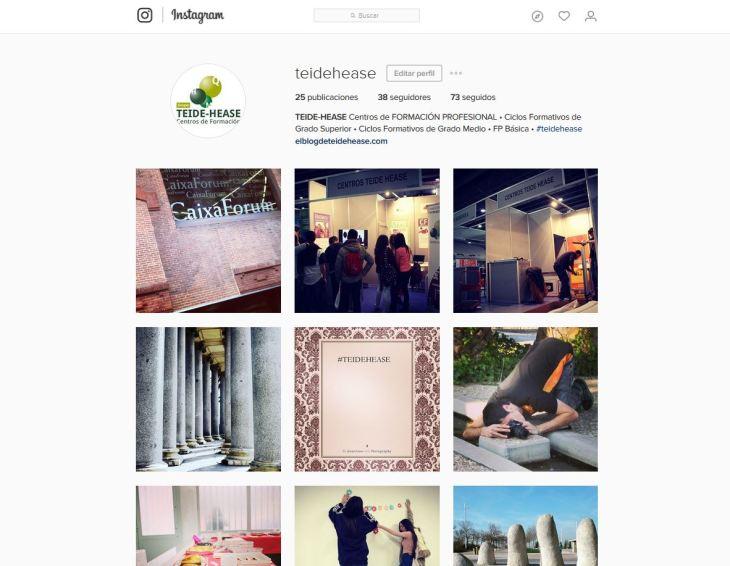 Instagram TEIDE-HEASE Formación Profesional