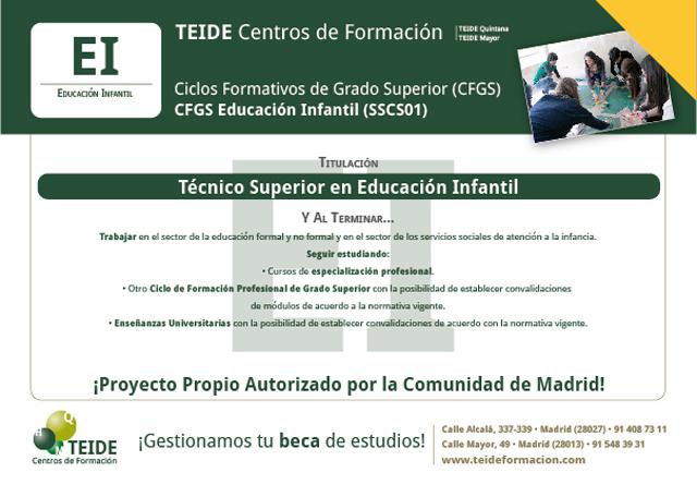 Técnico Superior En Educación Infantil El Blog De Teide Hease