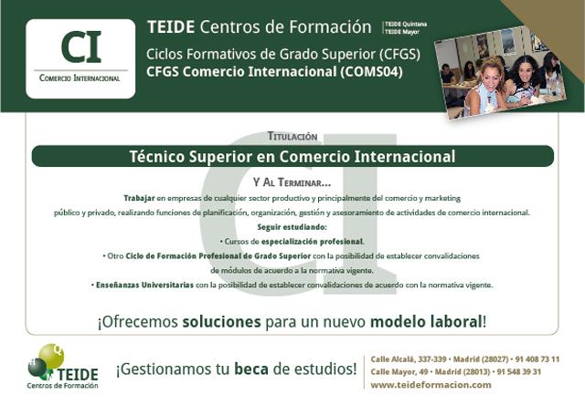 Técnico Superior En Comercio Internacional El Blog De
